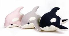 Organic Baby Orca Plush