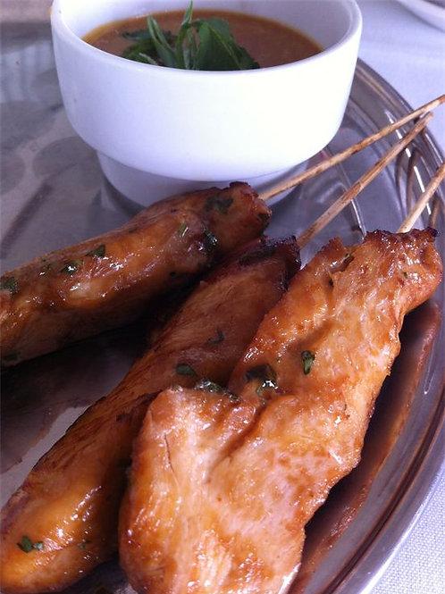 Thai Chicken Satay (per dozen)