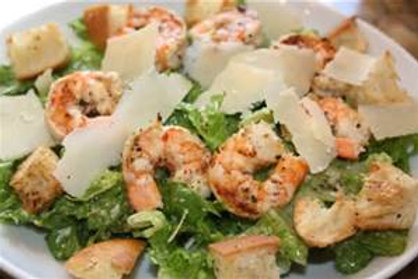 Garlic Shrimp Caesar Salad - Small