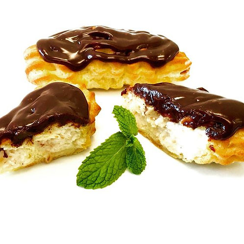 Fresh-baked Eclairs