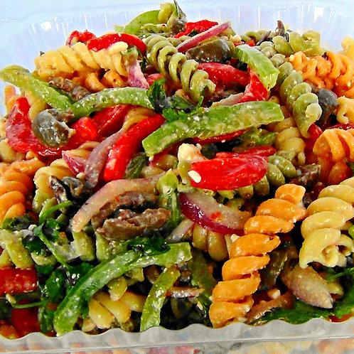 Tri-Colored Garden Rotini Salad