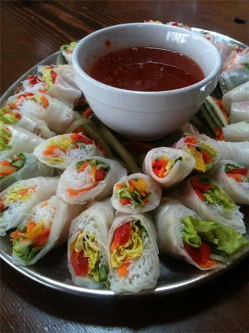 Vietnamese Vegetarian Spring Roll (per person)