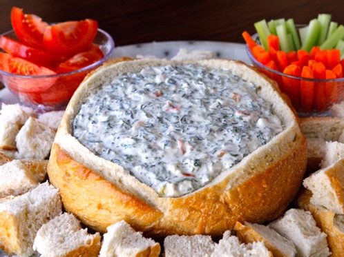 Classic Chilled Spinach Dip (per person)