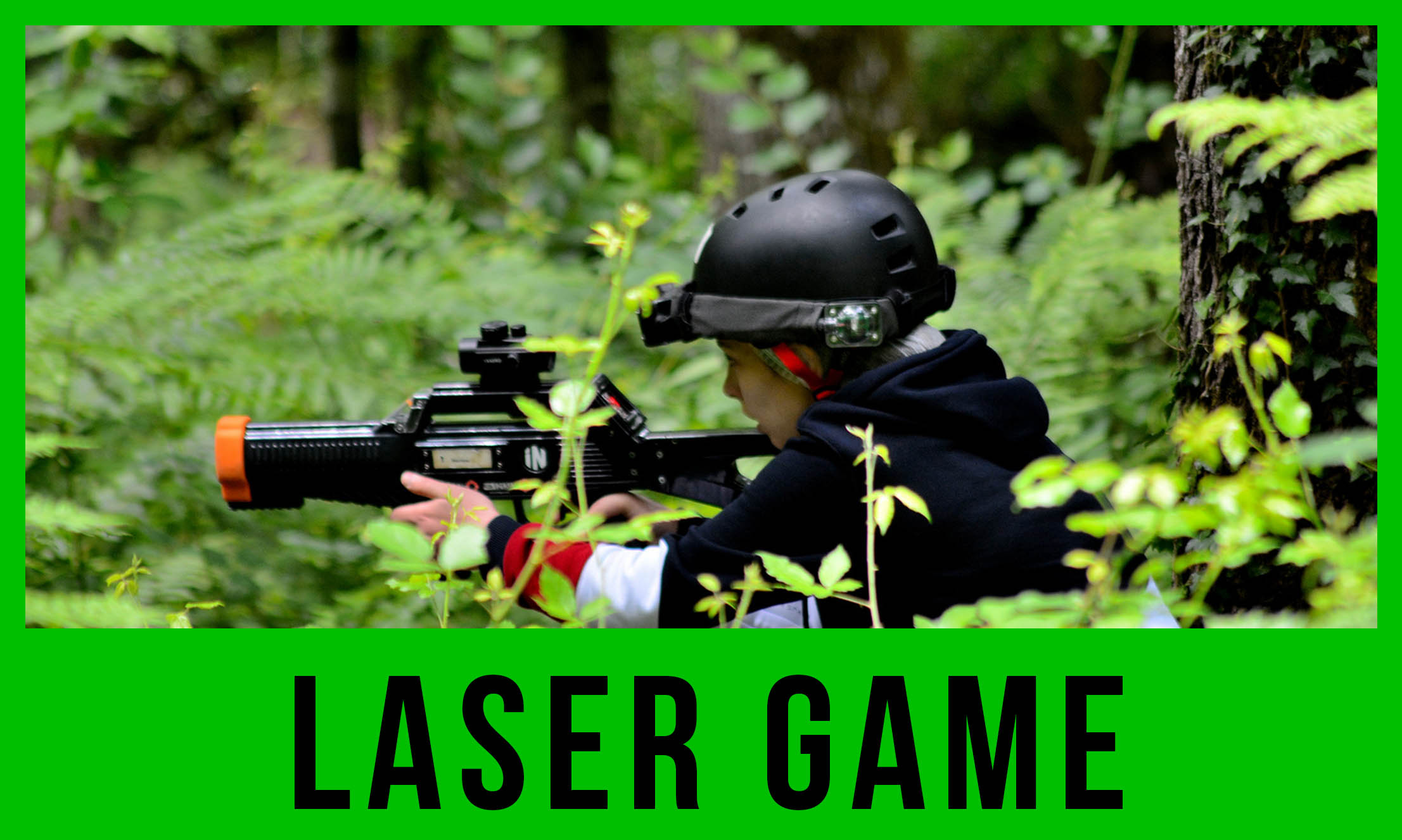 laser game à l'extérieur