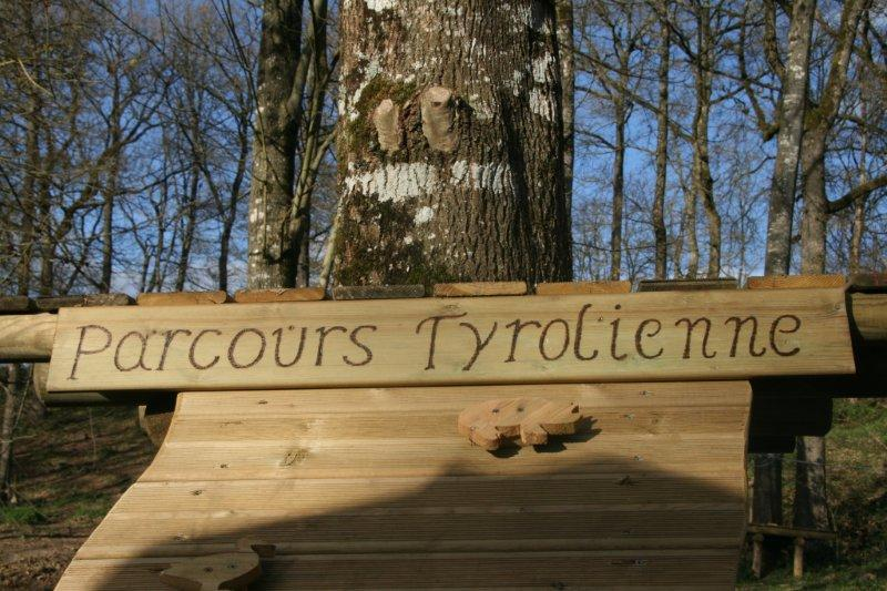 parcours tyrolienne