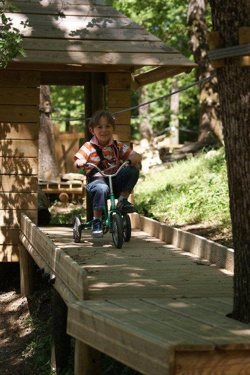 Pass accrobranche et parc animalier 3/7 ans