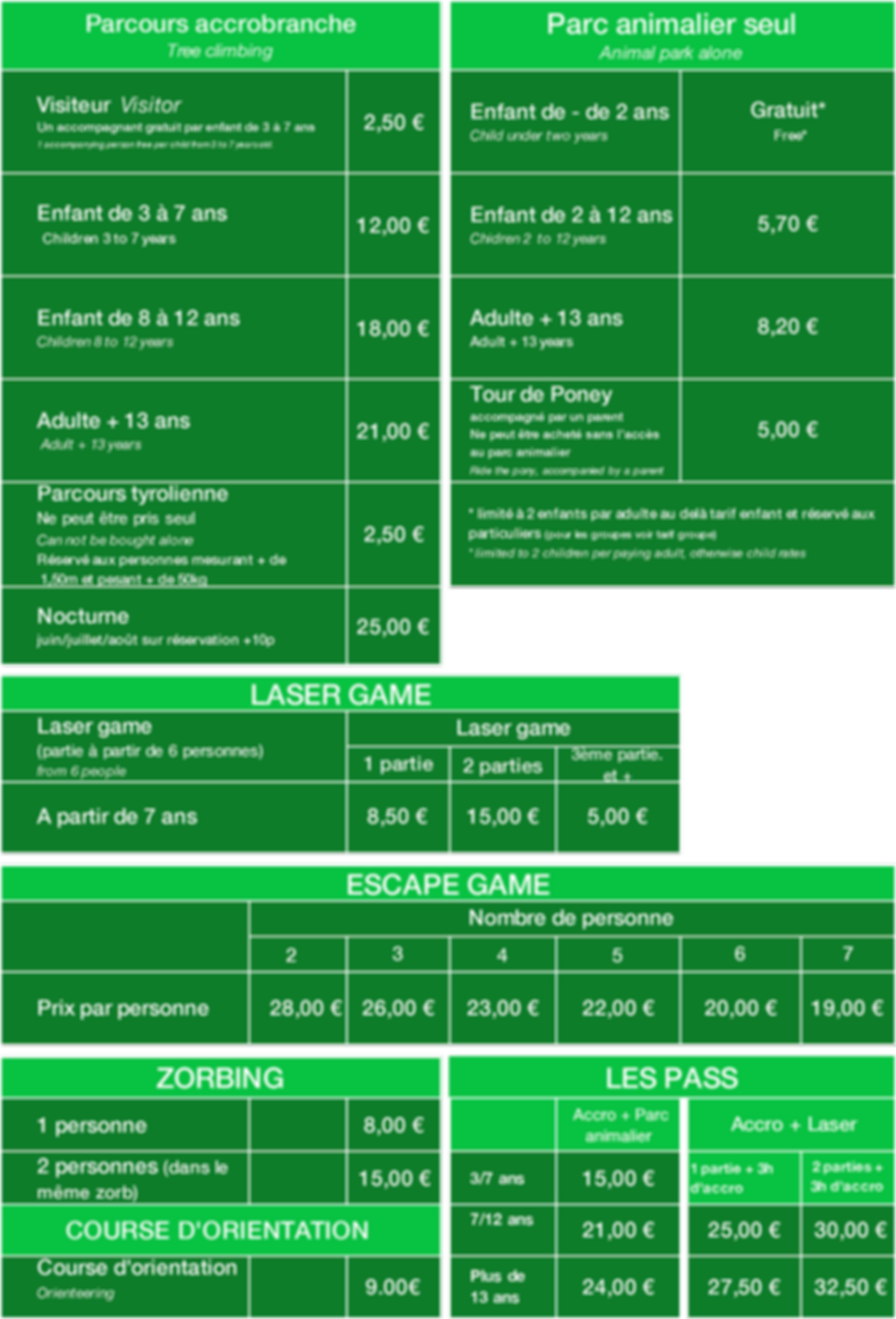 tarif Happy Forest 2019.png