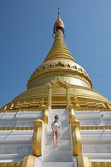 Pagoda in Sagaing