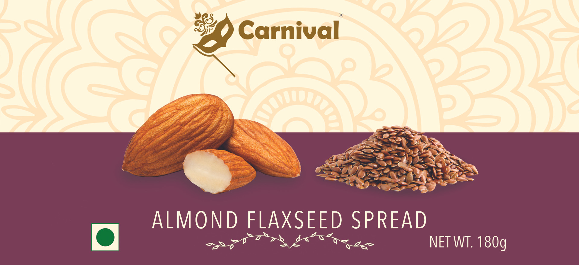 Almond Flaxseed Spread