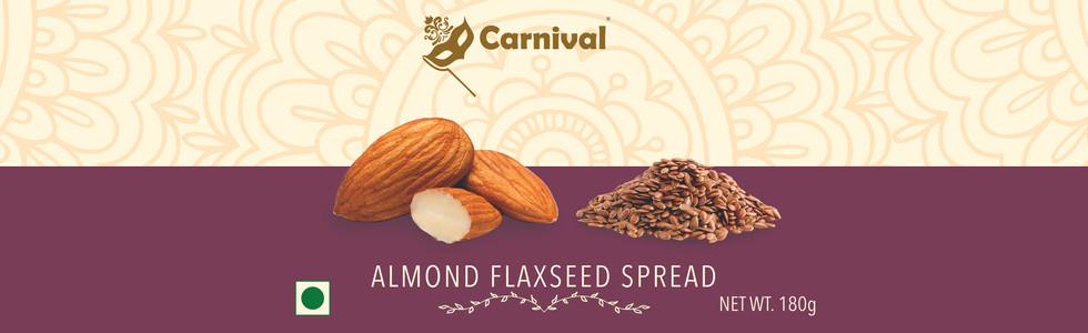 Almond Flaxseed Spread