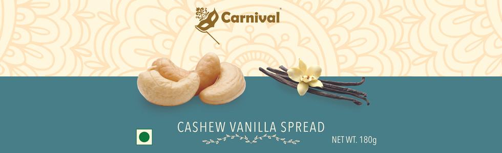 Cashew Vanilla Spread