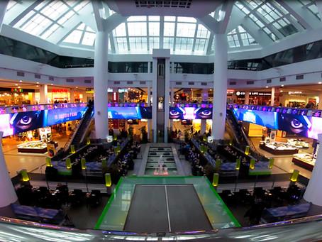 LED атриум в ТРЦ Мост Сити