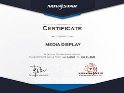 Media Display Nova Star