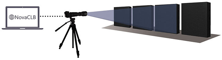 Calibration of NovaStar LED screens