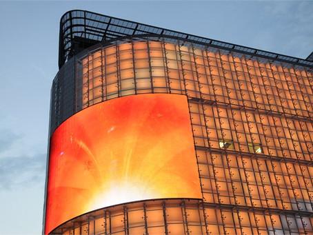 Светодиоды в световом оформлении фасадов