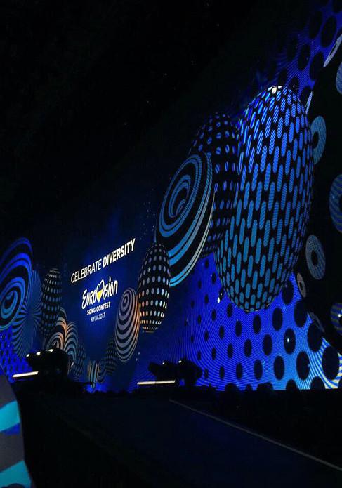 Indoor P3.91 EUROVISION 2017 Киев