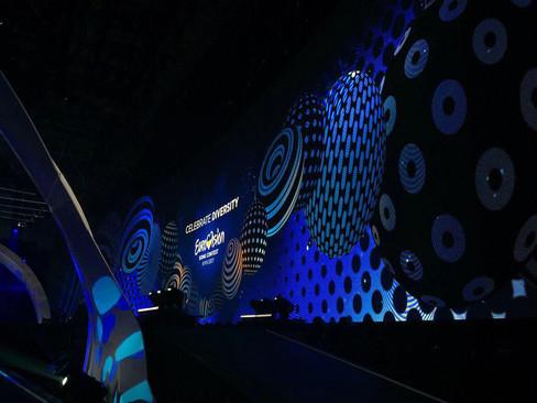 LED screen EUROVISION 2017