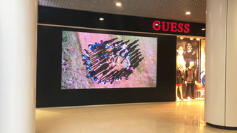 LED screen P3_GUESS_City Center