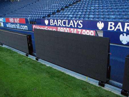 LED-реклама на стадионах