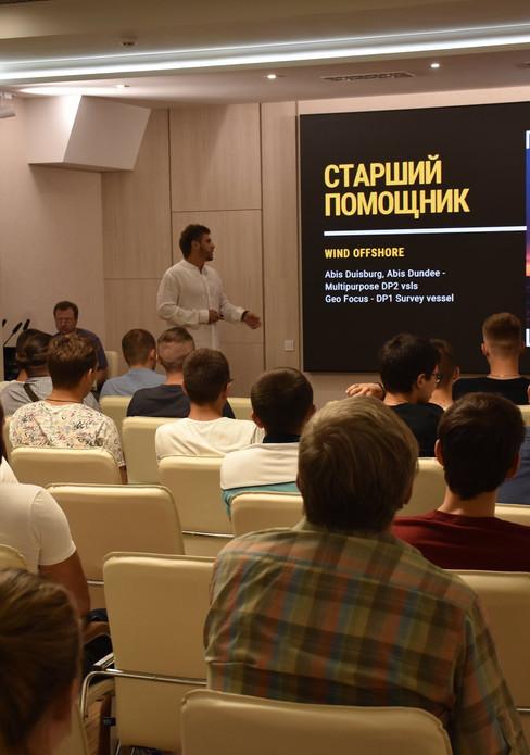 Indoor P2.5 Профсоюз морского транспорта Украины Одесса
