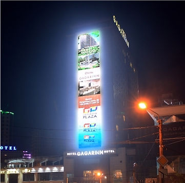 светодиодные экраны для отелей и гостиниц