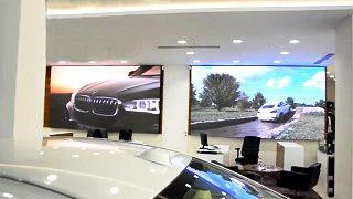 LED screens for car showrooms