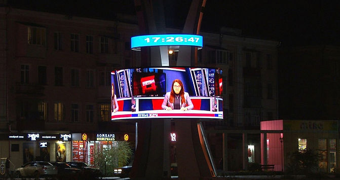 LED screens for outdoor advertising