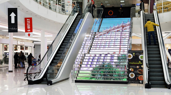 LED Ladder Gorodok Gallery