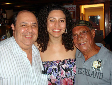 Valdo Gonzaga, Karine Telles e Jorginho Cebion