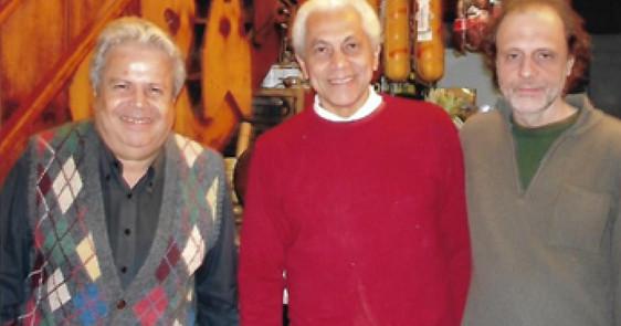 Flávio Chaves, Paulinho da Viola e Gudin   2007