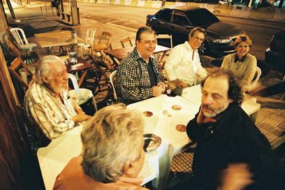 Paulo César Pinheiro, Serginho Leite, Gudin e Flávio Chaves   2004