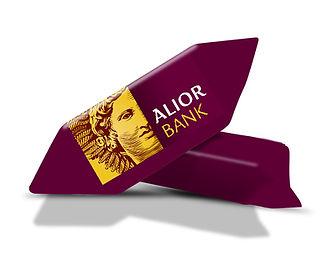 Krówki z logo Alior Banku