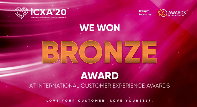 Nedbank iCXA20 Bronze Award - Digital Tr