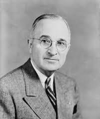 Harry Truman (1884-1972), Président des Etats-Unis de 1945 à 1953