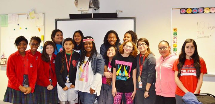 Teaching at Young Women's Leadership Academy