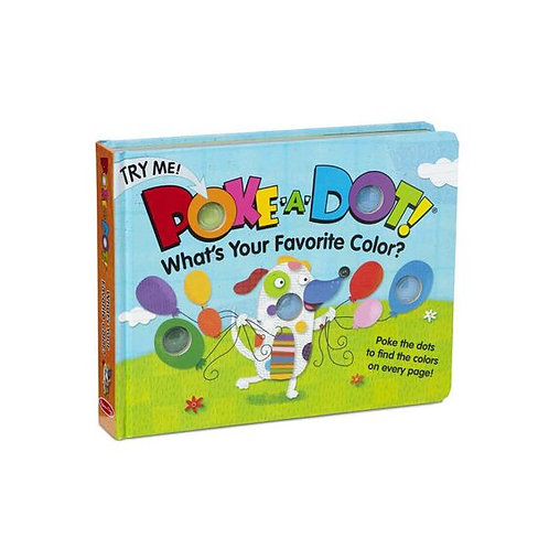MD Book - What's Your Favorite Color? (Poke-A-Dot)