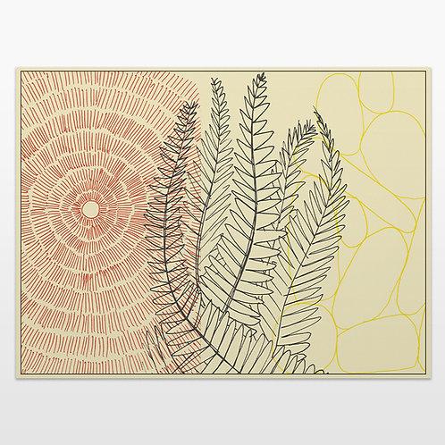 Sun Plant Rocks Print