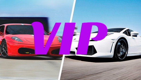 Vip Ferrari Lambo Combo 6 Laps Including 6 Full Throttle Sprints