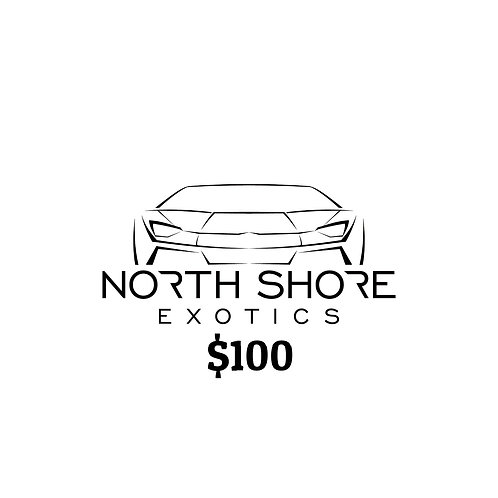 $100 North Shore Exotics Gift Certificate