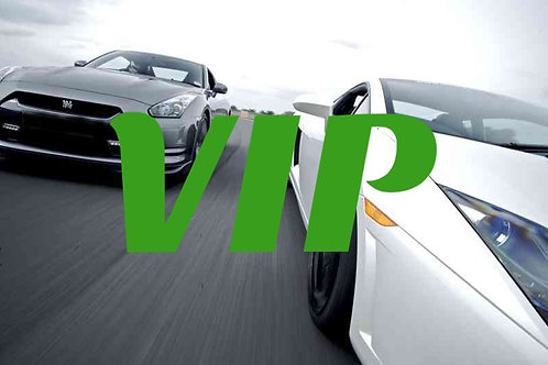 VIP Lambo & GT-R Combo: 6 Laps Including 6 Full Throttle Sprints
