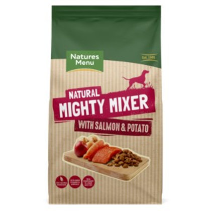 Natures Menu Mighty Mixer with Salmon & Potato 2kg