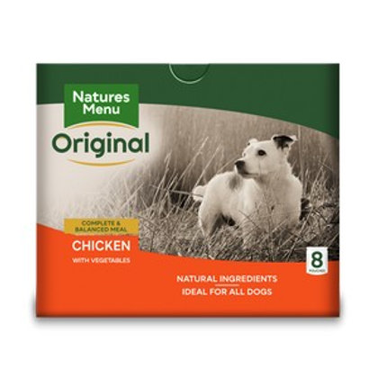 Natures Menu Dog Pouch Adult Chicken - 8 Pack