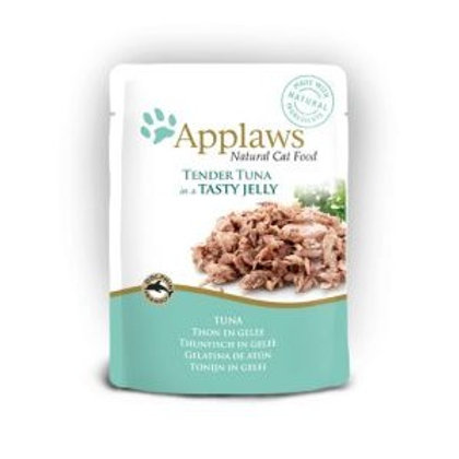 Applaws Cat Pouch Tuna Wholemeat In Jelly 70g