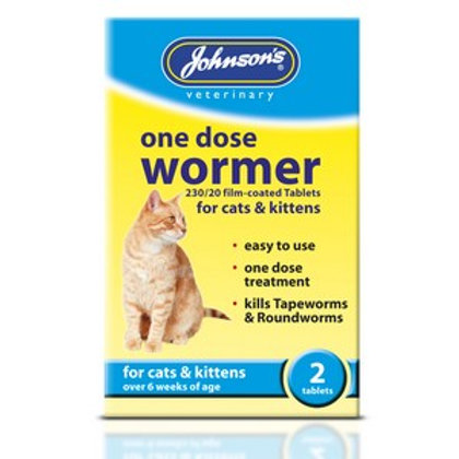 Easy One Dose Wormer For Cats