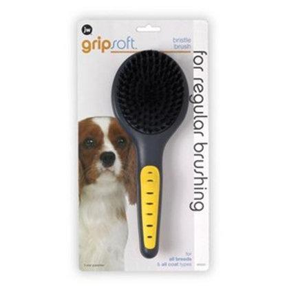 JW Gripsoft Grooming Bristle Brush
