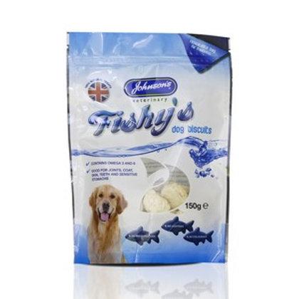 Fishys Dog Biscuits 150g
