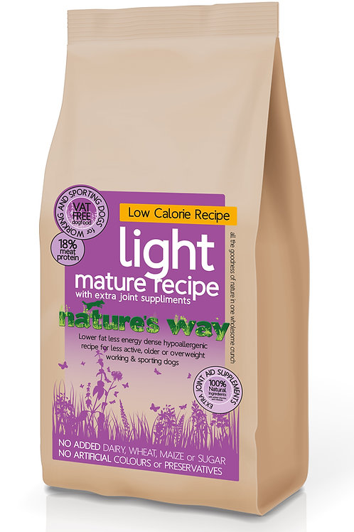 Nature's Way Mature & Light Recipe 12kg