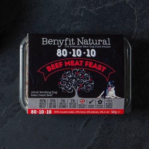 Benyfit 80*10*10 Beef Meat Feast - 1kg