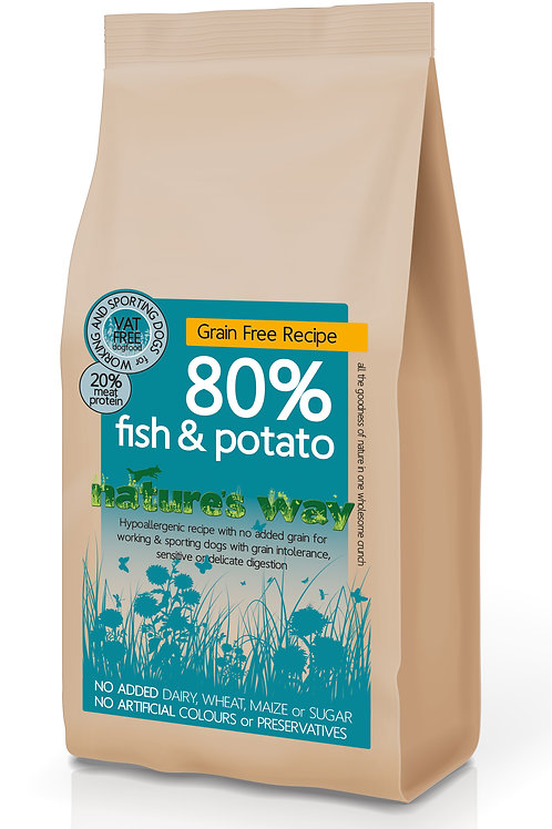 Nature's Way 80% Fish & Potato Recipe 2kg