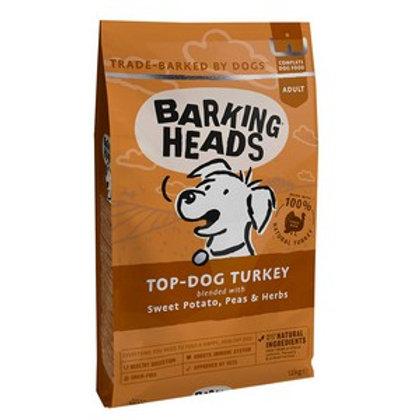 Barking Heads Top Dog Turkey 12kg